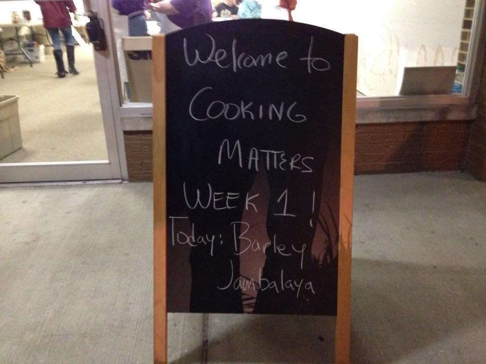 Cooking Matters @ OWU's Human Health & Kinetics