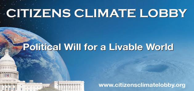 Thursday Jan. 26, 2017: Establishing Respectful Political Dialogues on Climate Change: A Film and Conversation with Citizen's Climate Lobby