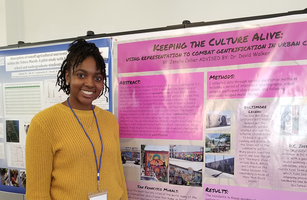 Student Research: Jenelle Collier: Keeping the Culture Alive Using Representation to Combat Gentrification in Urban Communities