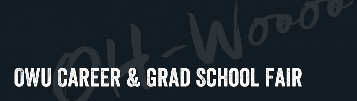 OWU Career & Grad School Fair including Environment & Sustainability Opportunities